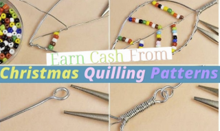 Earn Cash From Christmas Quilling Patterns