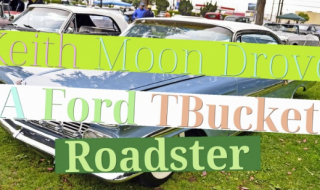Keith Moon Drove A Ford T-Bucket Roadster!