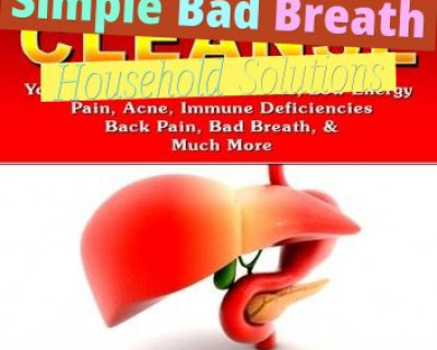 Simple Bad Breath Household Solutions
