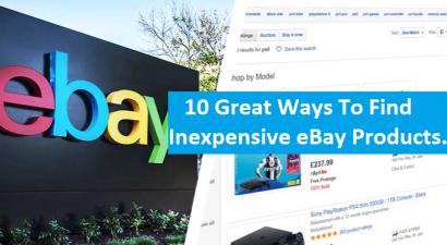 10 Great Ways To Find Inexpensive eBay Products