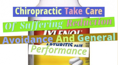 Chiropractic Take Care Of Suffering Reduction, Avoidance And General Performance